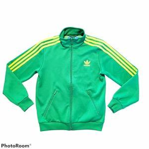 Adidas zip up jacket, size Medium